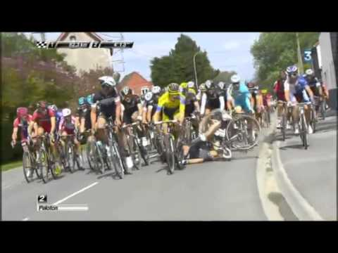 Cycling Crash Compilation / Chute Cyclisme