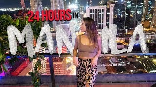 24 Hours In MANILA Philippines (We Didn't Expect THIS To Happen!)