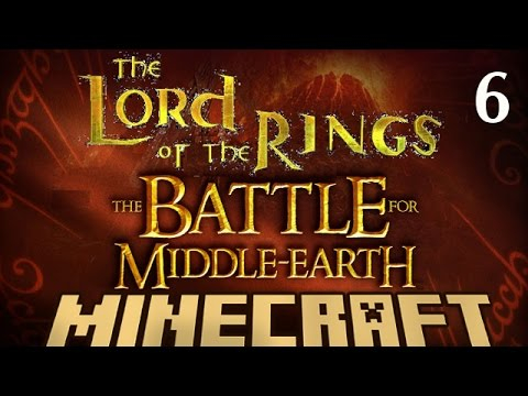 Minecraft Modded Server | LOTR The BATTLE for MIDDLE EARTH | EP 6
