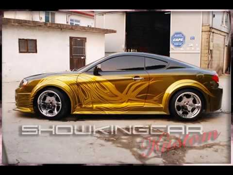 "Remove Spray Paint From Car >> showkingcar ' custom painting "" tuscani tokyodrift "" kustom car (showkingcar kustom) - YouTube"