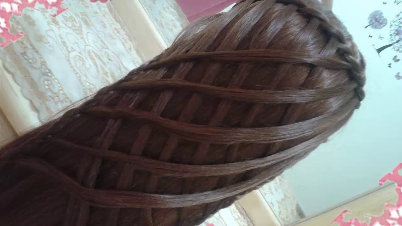 peinados sencillos faciles para cabello largo bonitos y rapidos con trenzas para nia mariposa30 youtube - Trenzas Pelo Largo