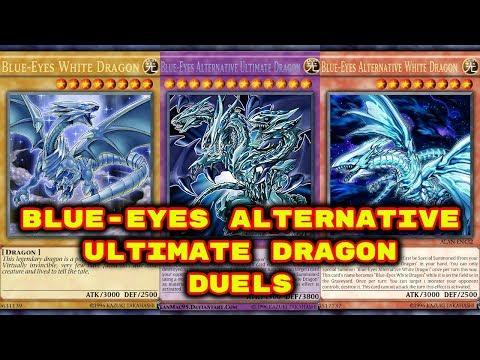 Yugioh - Blue Eyes Alternative Ultimate Dragon Duels Deck  in Description