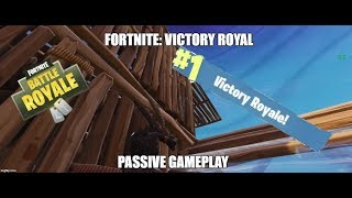 Fortnite: Victory Royale - Passive Gameplay (UW Monitor)