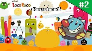LocoRoco Remastered (2): Meet the red, black and green LocoRoco! (Stream Archive)
