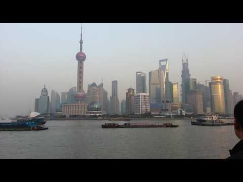 Шанхай достопримечательности. Набережная Шанхая. Вайтань. Shanghai Bund.