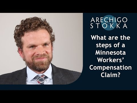 What are the steps of a Minnesota workers' compensation case?