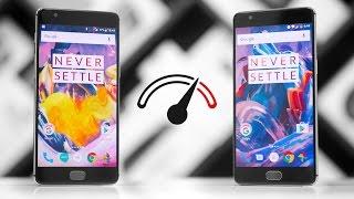 OnePlus 3 vs OnePlus 3T Speedtest Comparison