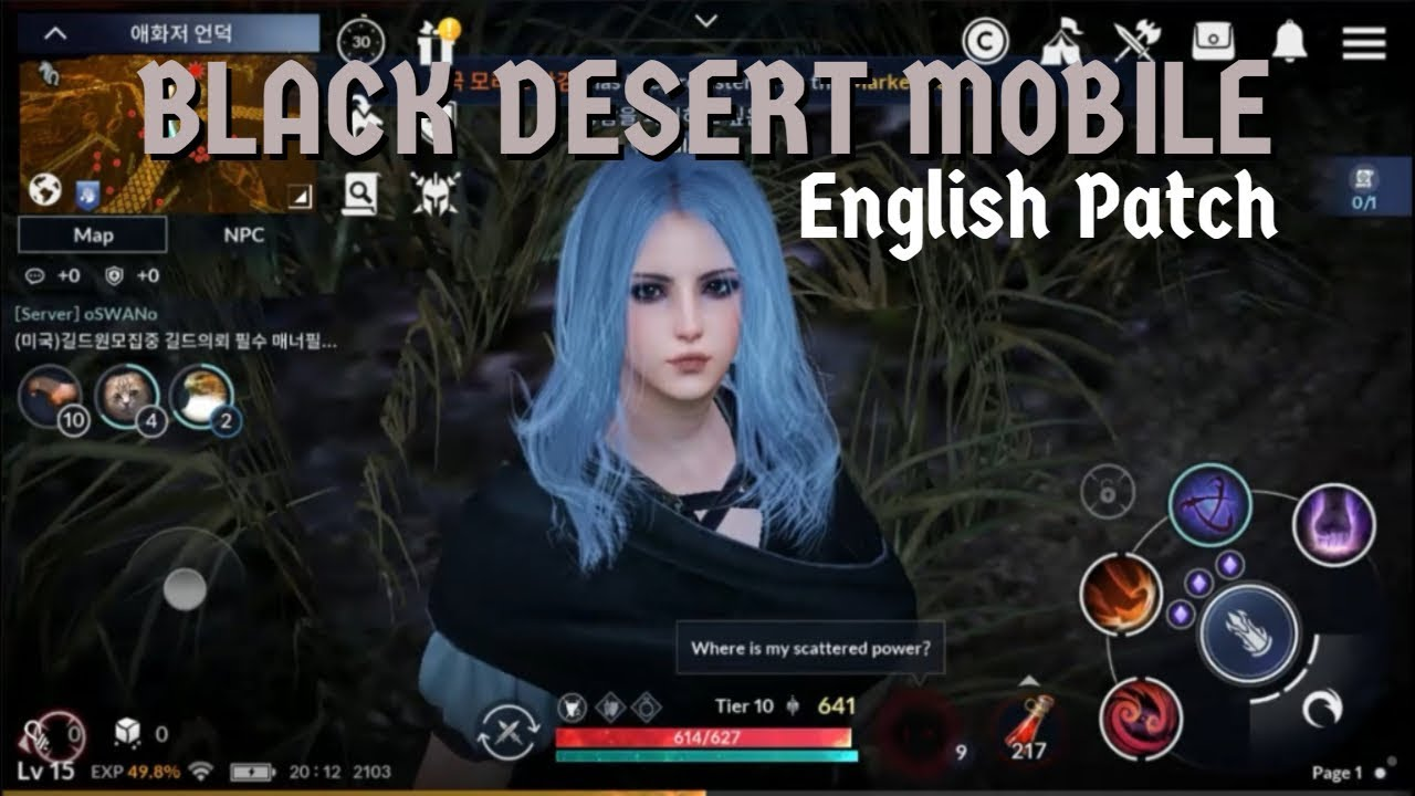 Black Desert Mobile - English Patch (Review)