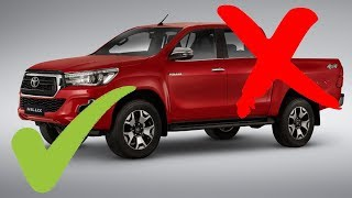 LO MEJOR Y LO PEOR: Toyota Hilux 2019