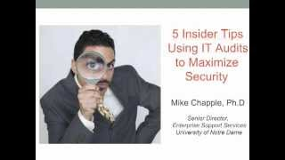5 Insider Tips: Using IT Audits to Maximize Security
