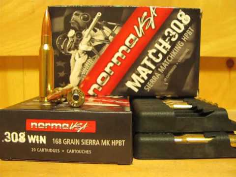 308 Win 168 Grain BTHP SMK Match Ammo by Norma USA - 10174542 at SGAmmo com