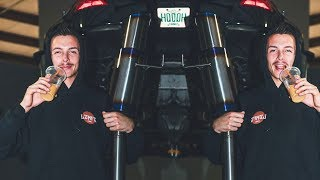 350Z Gets a PROTOTYPE Titanium Exhaust