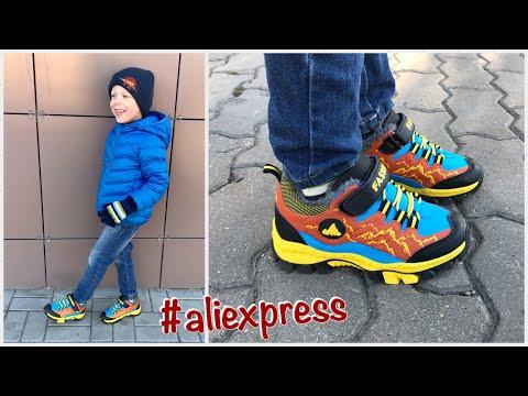 Крутые детские зимние ботинки с #aliexpress