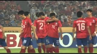 EAFF EAST ASIAN CUP 2013 KOREA Rep vs JAPAN