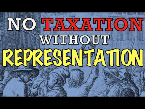 No Taxation Without Representation - The Song