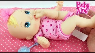 Baby Alive Luv n Snuggle Doll Feeding and Changing