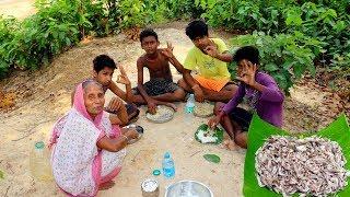 Kucho Chingri Bata | Prawns Paste Recipe by Grandmother | Village Style Cooking