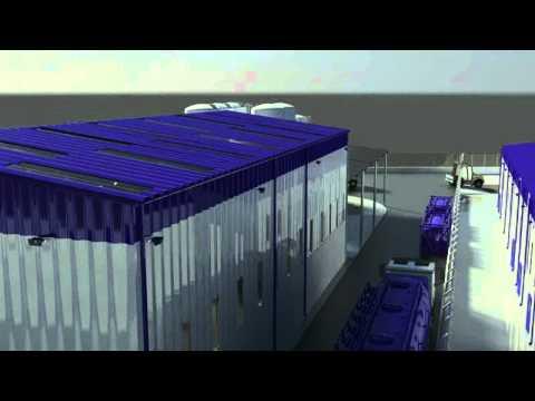 Schlumberger Bulk Plant Baku Azerbaijan 3D