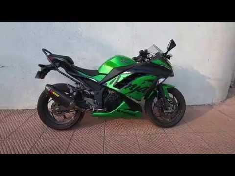 2018 Kawasaki Ninja 300 ABS (India) - Akrapovic Exhaust