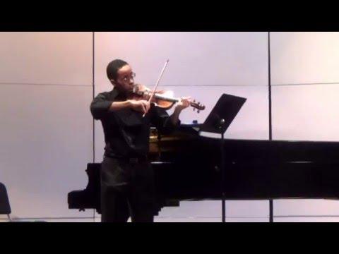 Austin Rodriguez- Zantetsuken Composition for solo violin