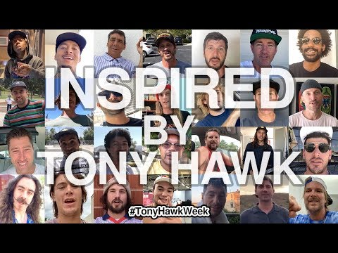 Tony Hawk Inspires World's Most Legendary Skateboarders