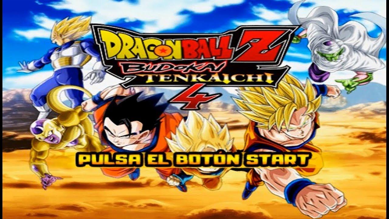 dragon ball z budokai tenkaichi 4 download ita