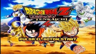 Dragon Ball Z Budokai Tenkaichi 4 (BETA 5) |Scenario, New Start Menu and New History (MOD PS2)