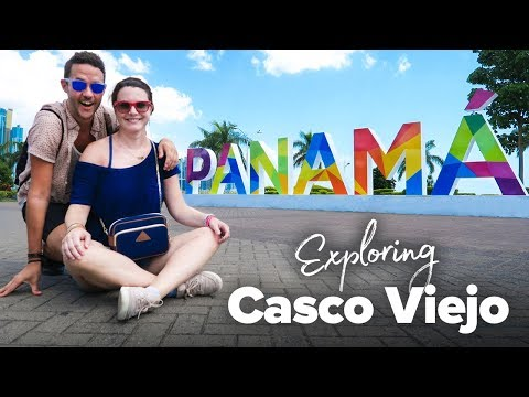 Exploring Casco Viejo in Panama City