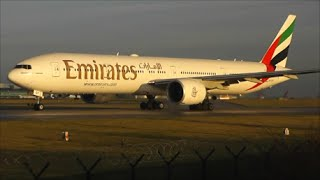 Sunrise Close Ups at Manchester Airport | 1 Hour Long! 05/01/15