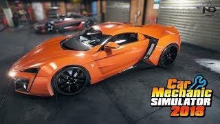 Car Mechanic Simulator #40 - Phục chế siêu mãnh thú Lykan Hypersport từ bãi rác   ND Gaming