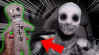*SCARY* INSANE VOODOO DOLL CHALLENGE ON THE RAKE AT 3 AM!! (IT BIT ME!!)
