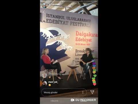Azra Kohen  İstanbul Edebiyat Festivali 20.04.2019