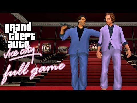 GTA: Vice City - FULL GAME Walkthrough - No Commentary
