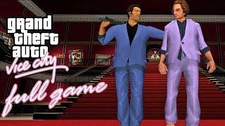 GTA Vice City - FULL GAME Walkthrough - No Commentary