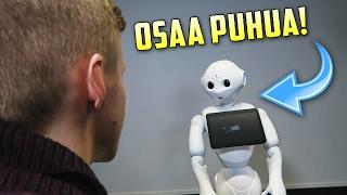 Puhuin Robotin Kanssa! 🤖