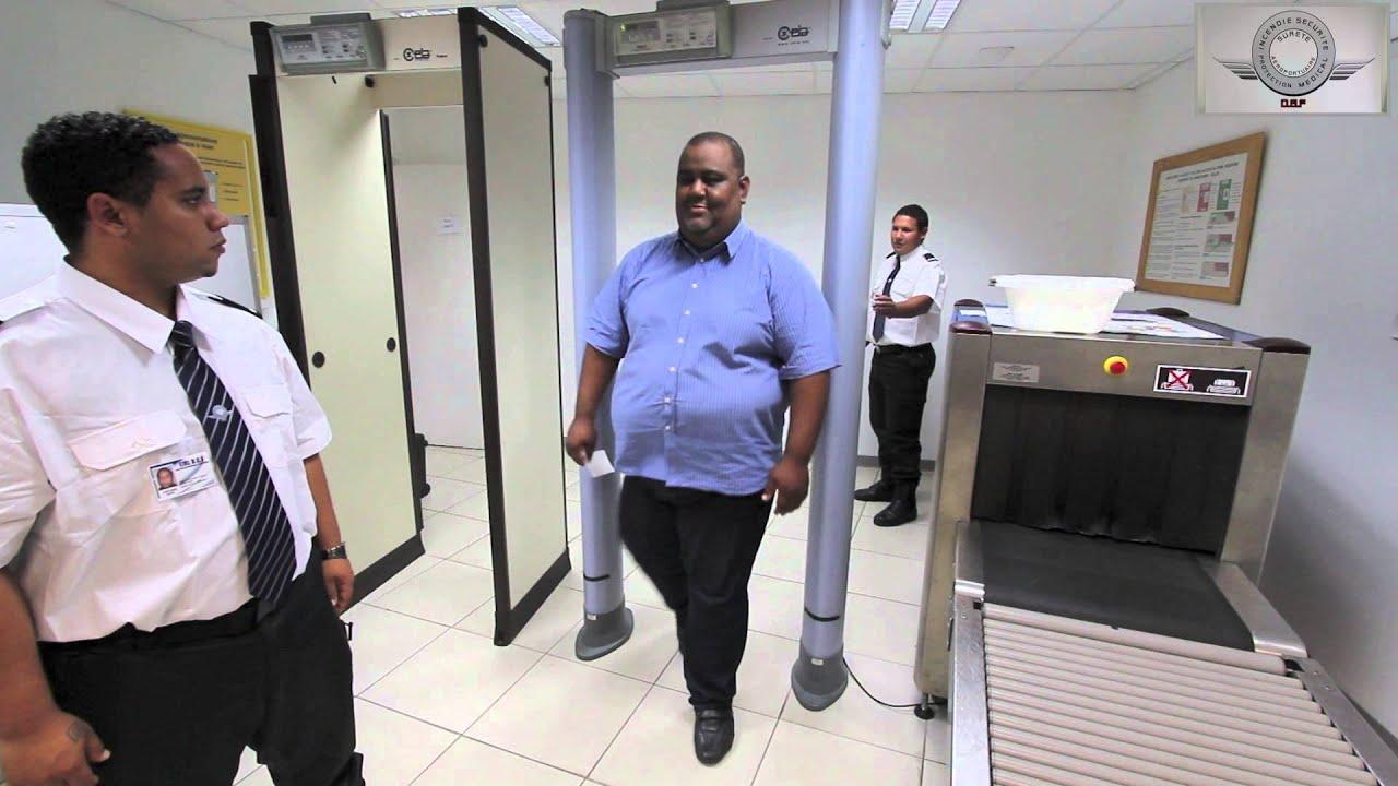 Agent de s ret formation dgf youtube - Agent de comptoir aeroport ...