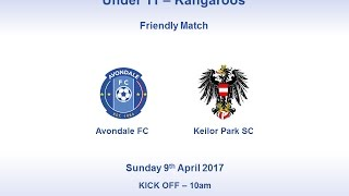 MiniRoos - U11 Kangaroos - Avondale FC vs Keilor Park SC - April 2017