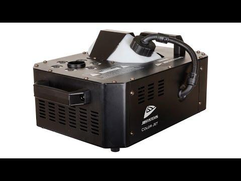Machine à Fumée COLOR JET VERTICAL LEDS RGB vidéo