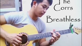 (+-TABS)The Corrs - Breathless (Guitar Fingerstyle)