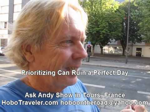 What is Perfect Day for Andy Lee Graham World Traveler?