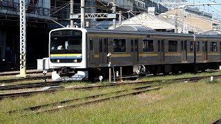 2019/10/10 【事故車 修理後試運転】 209系 C612編成 大宮駅 | JR East: Test Run of 209 Series C612 Set under Repair