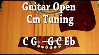 Guitar Open Cm Tuning C G C G C Eb