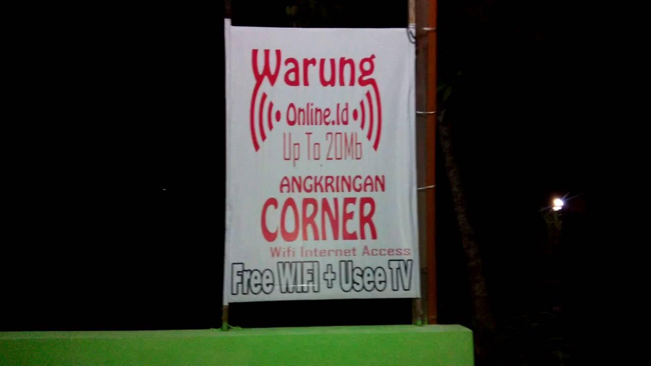 Warkop Angkringan Free Wifi
