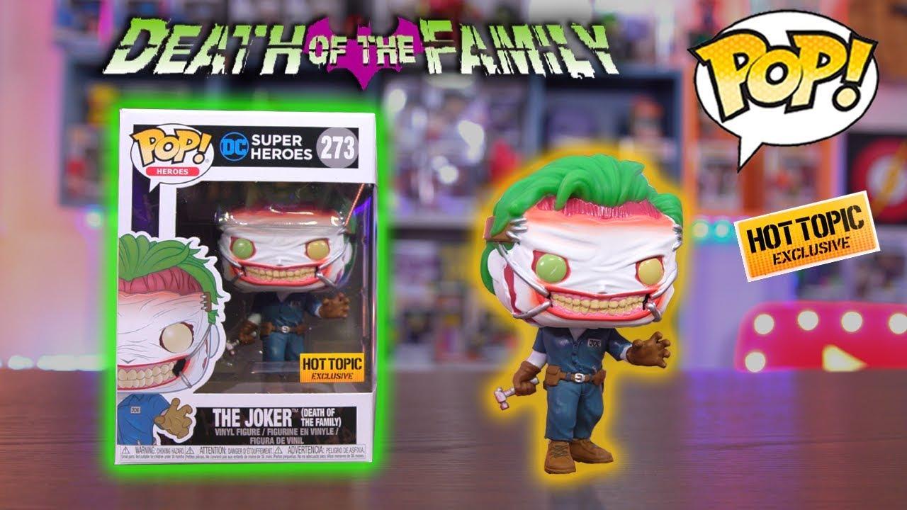 Joker US Exclusive Pop Vinyl Batman Death of the Family Vinyl Pop