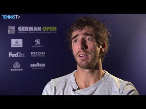 Cuevas Reflects On Hamburg 2016 Semifinal Win