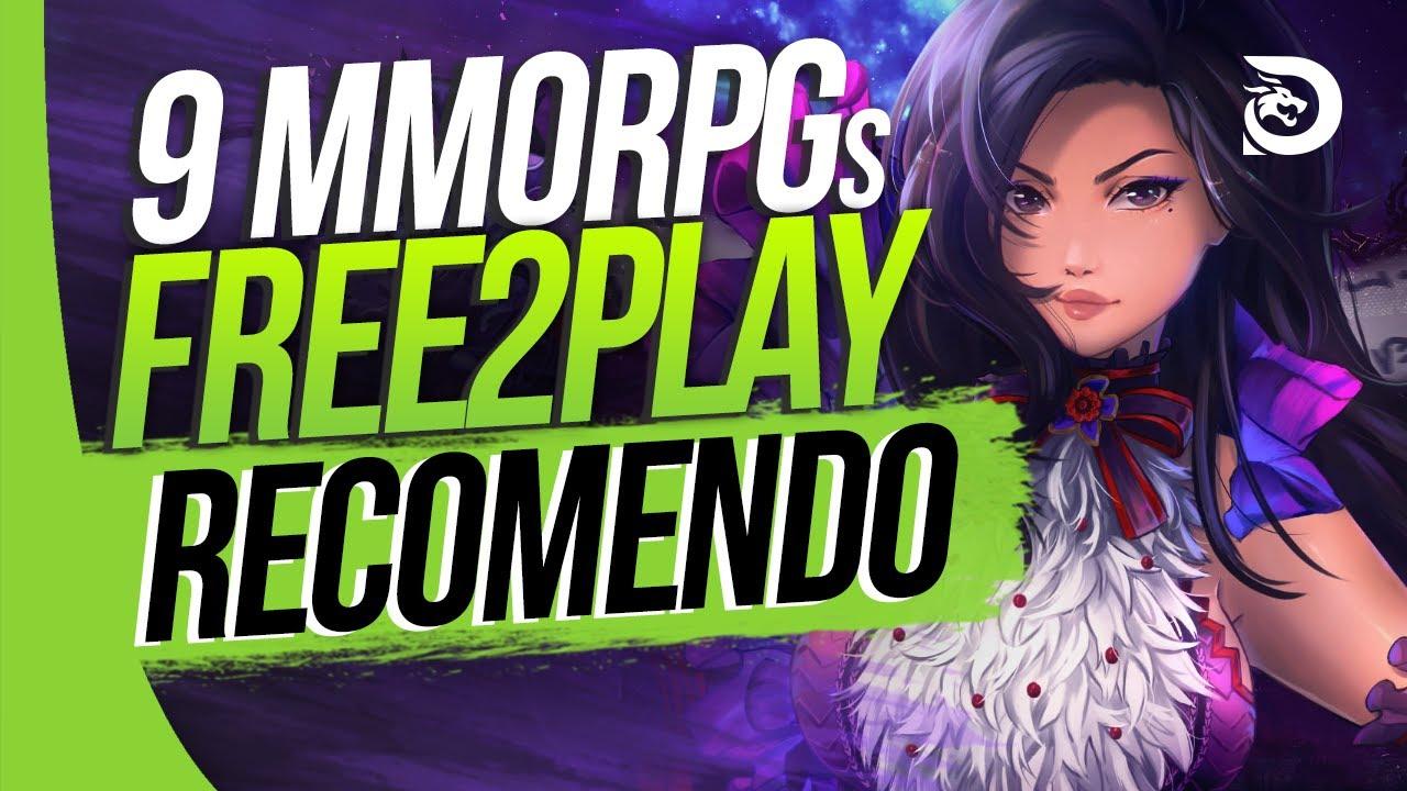 9 MMORPGs Free to Play/Acessíveis QUE EU RECOMENDO para 2021 (PC)