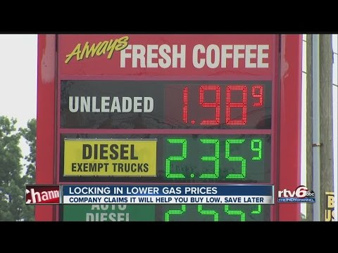 Locking in lower gas prices