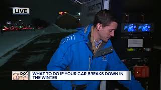 What to do if your car breaks down in the winter