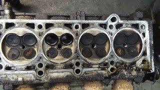 Разборка двигателя Крайслер Газ 31105,часть № 2 снимаем ГБЦ.