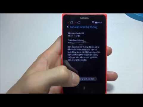 Nokia X - Cập nhật phần mềm 11.1.1